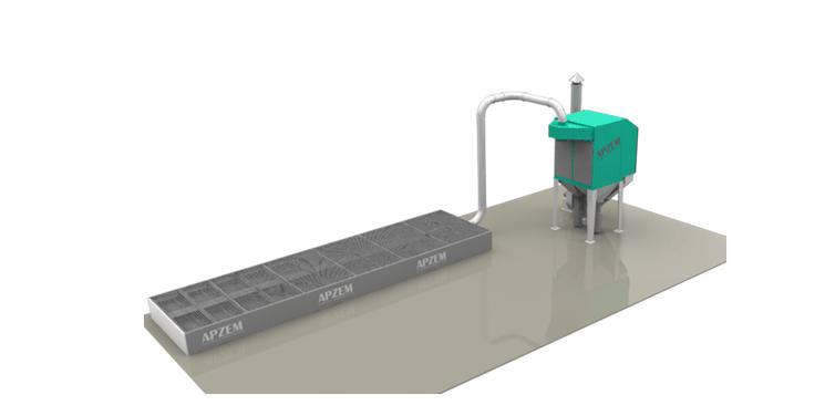 Cnc Plasma Cutting Machine Fume Extractor Apzem India