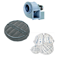 wet scrubber accessories